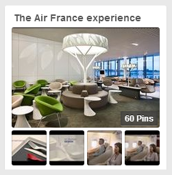 Pinterest: The Air France experience