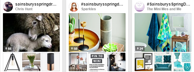 Spring Dream Home - Sainsbury's Spring/Summer 2015 homeware collections competition