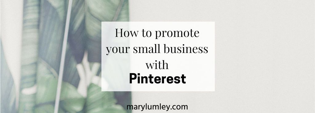 HOW TO PROMOTE YOUR SMALL BUSINESS WITH PINTEREST - Pinterest works just as well for small businesses as it does for large brands. If you know your target audience inside out, you can obtain real business results with Pinterest. Here's how.