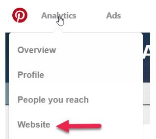 How to access Pinterest Analytics