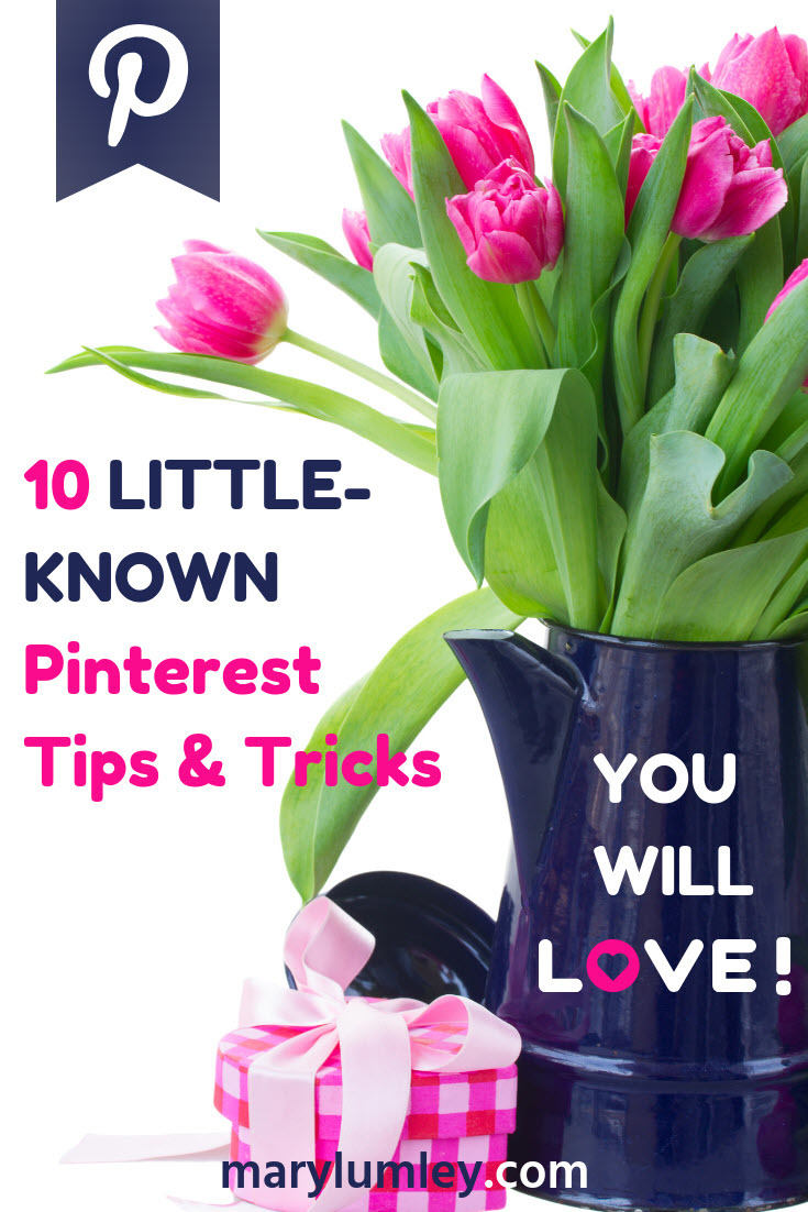 10 LITTLE-KNOWN PINTEREST TIPS & TRICKS YOU WILL LOVE! - I love discovering new ways to get the most out of Pinterest. In this blog post, I am sharing some of my favourite tricks that you can use to improve your marketing on Pinterest. I bet there are one or two tricks here that you have not seen before.