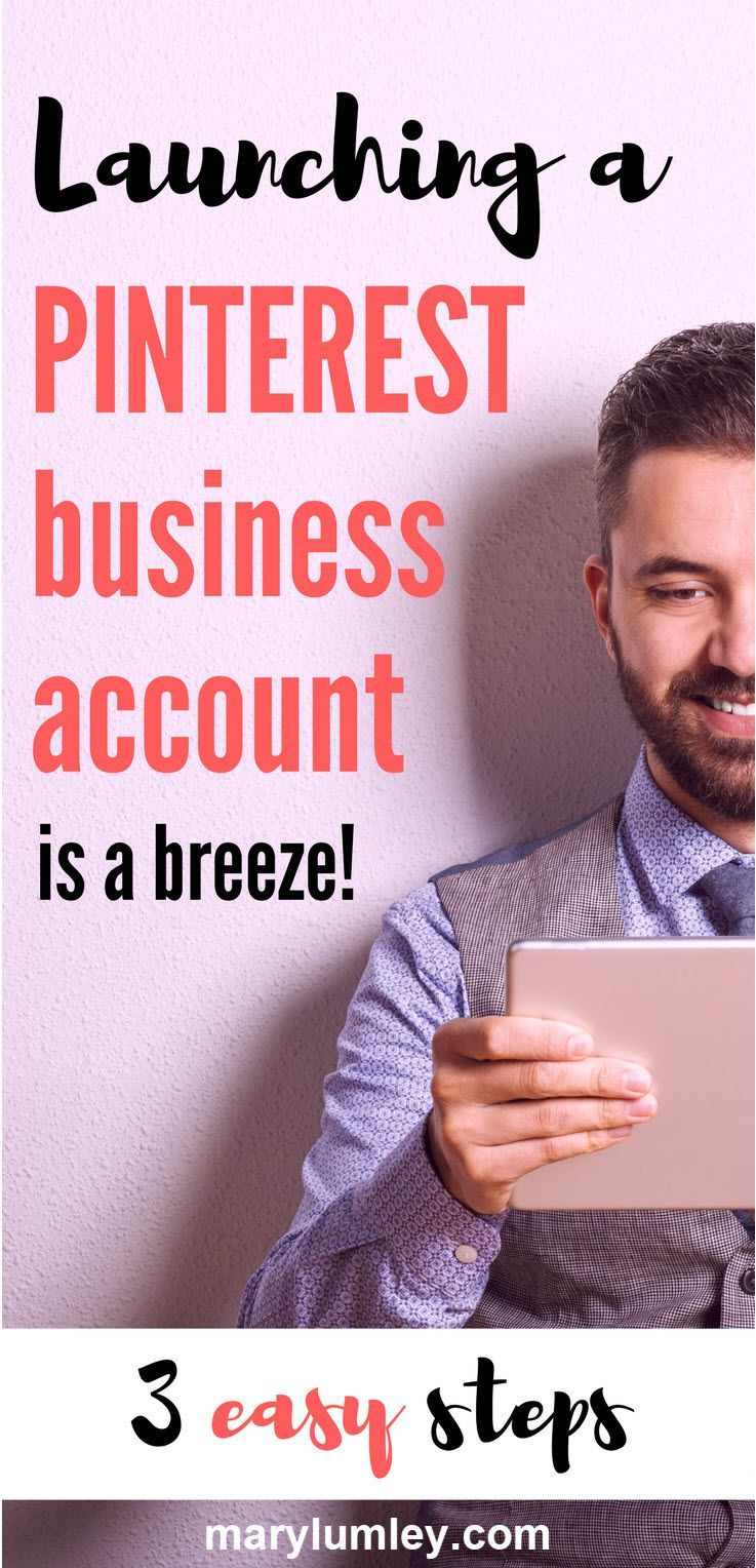 HOW TO CREATE YOUR PINTEREST BUSINESS ACCOUNT IN 3 EASY STEPS - If you have a Pinterest account that you use for business, a Pinterest Business Account is an absolute must. It's super easy to create or convert, it's free to use and offers valuable insights and additional functionality. Let's go!