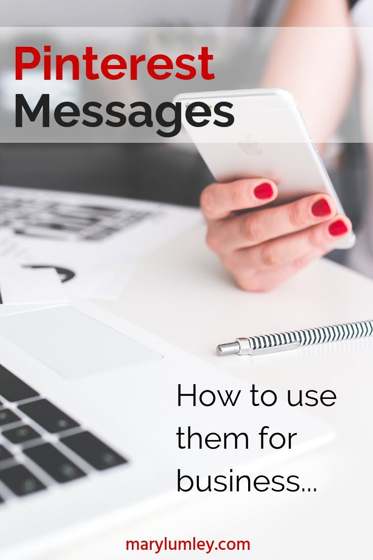 How To Use The Pinterest Message Feature For Your Business - Pinners can now keep the conversation going without leaving the site
