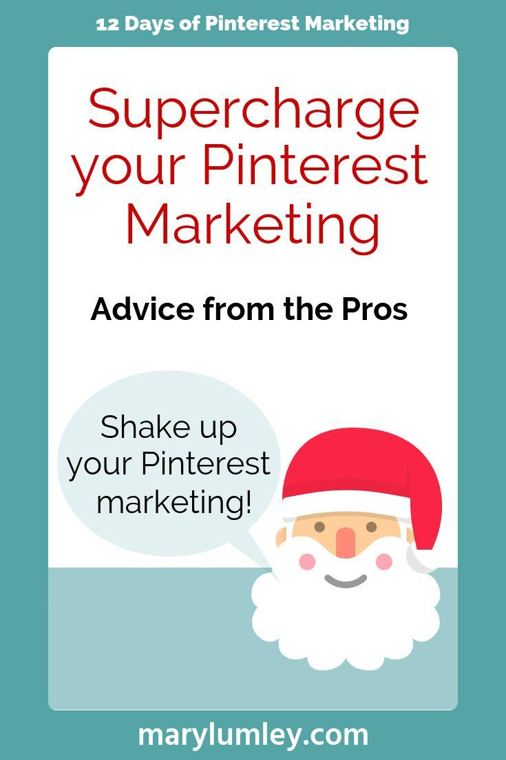 12 DAYS OF PINTEREST MARKETING - The countdown to Christmas has started! For the 12 days of Christmas, here are 12 Pinterest Marketing tips & tricks from me to you. Click to discover some of the highlights of Pinterest Marketing advice that I shared over the last 12 months.