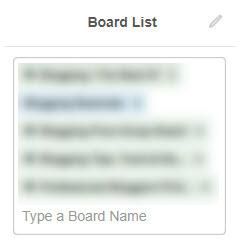 Tailwind Board List