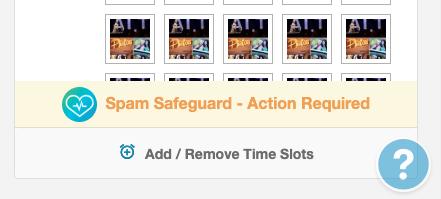 SmartGuide SPAM Warning
