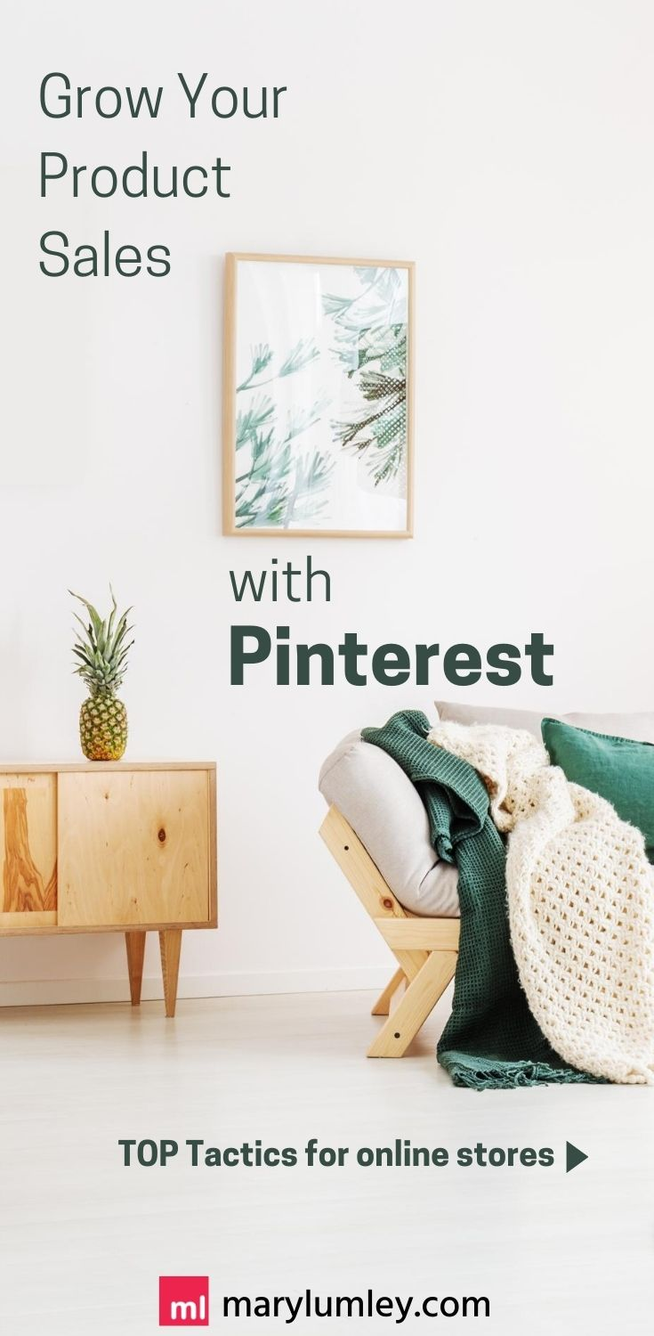 Pinterest for E-commerce - The way people engage on Pinterest is extremely well tailored to e-commerce purchases. And, with global e-commerce spend expected to reach 15% of total retail sales in 2020, it may be time to up your Pinterest for Ecommerce game! Here's how. #pinterestmarketing #ecommerce #marylumley